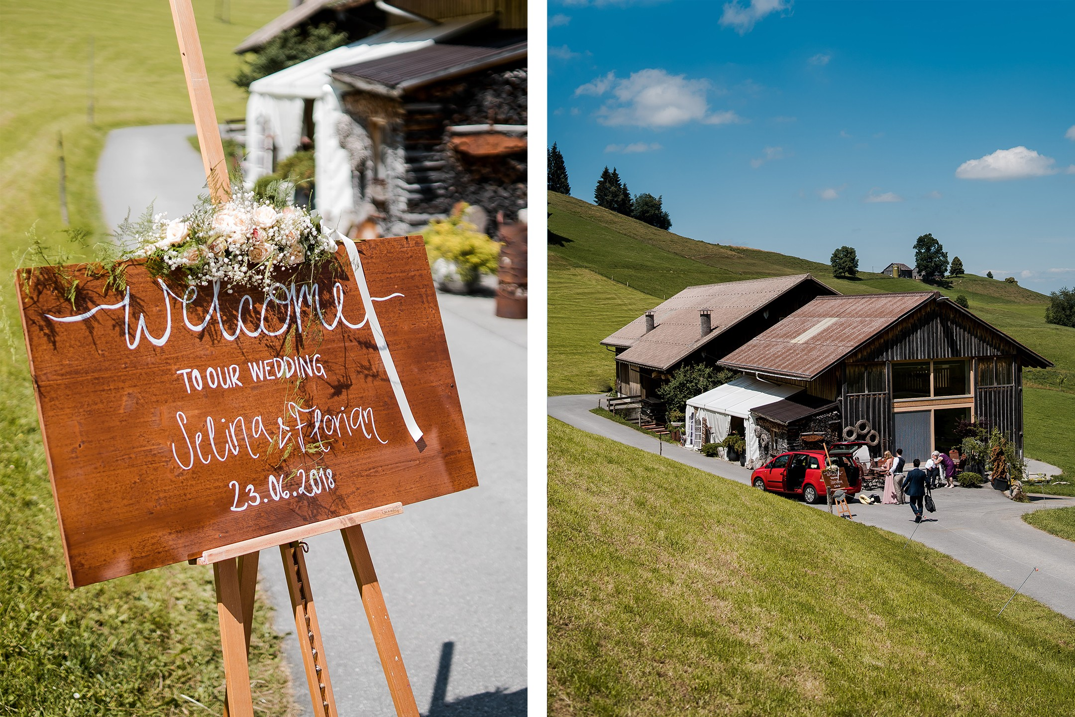 Aida + Tim | Hochzeitsfotografen am Bodensee Berghochzeit in der Schweiz  - Hochzeitsfotografie von Aida und Tim
