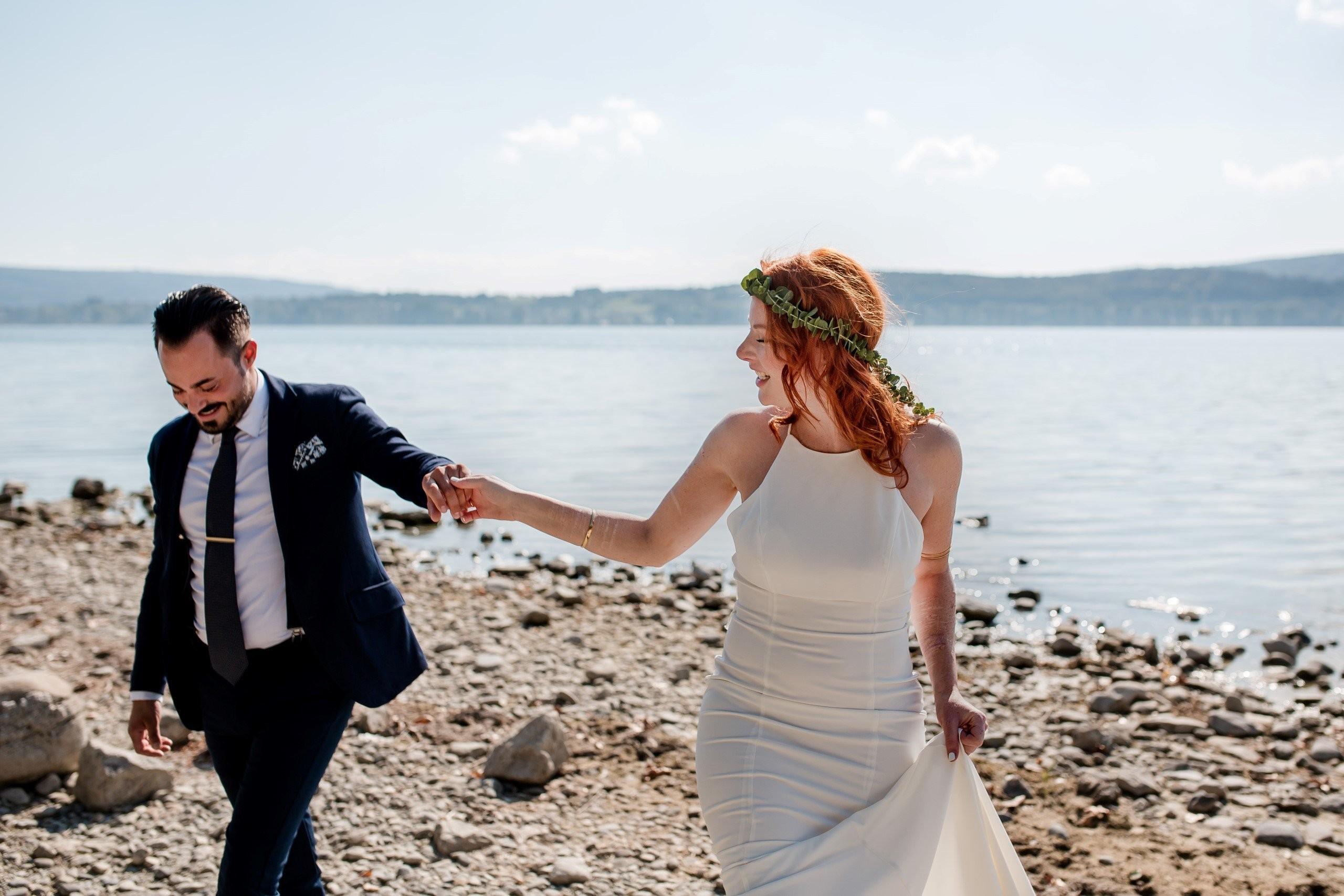 Aida + Tim | Hochzeitsfotografen am Bodensee Hochzeit am See in Deutschland  - Hochzeitsfotografie von Aida und Tim