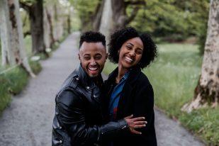 Aida + Tim | Hochzeitsfotografen am Bodensee Verlobungsshooting - Mainau, Bodensee